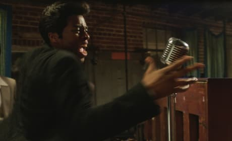 Get On Up Chadwick Boseman Sings