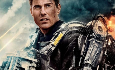 Edge of Tomorrow Tom Cruise Character Poster