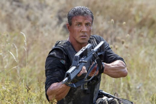 Sylvester Stallone Stars The Expendables 3