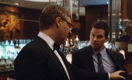 Russell Crowe Mark Wahlberg Broken City