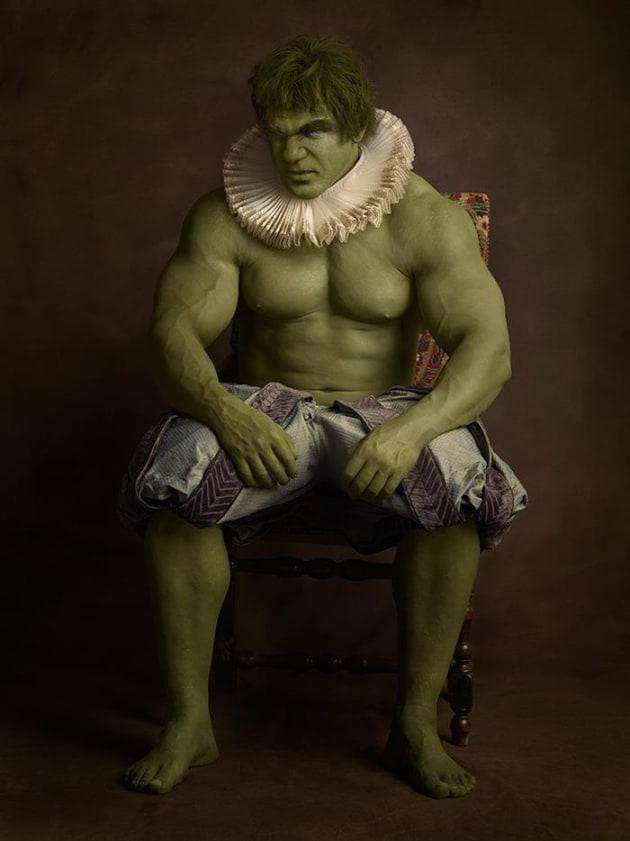 The Incredible Hulk As Renaissance Subject