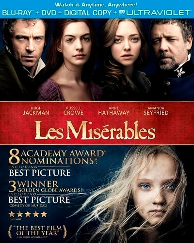 Les Miserables Blu-Ray