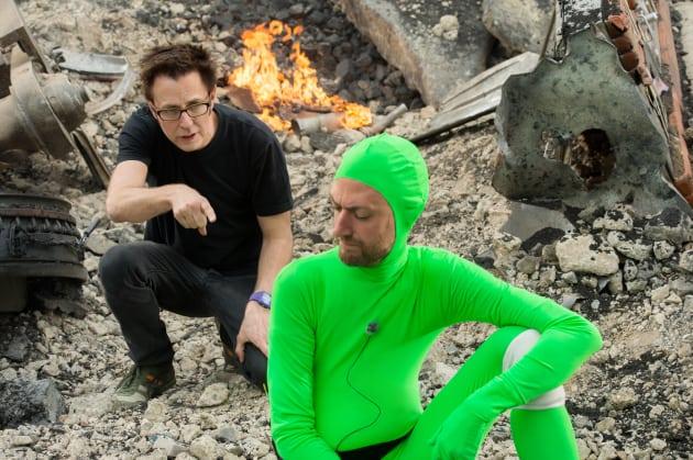 James Gunn Eric Gunn Guardians of the Galaxy Set