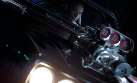 Furious 7 Vin Diesel Driving