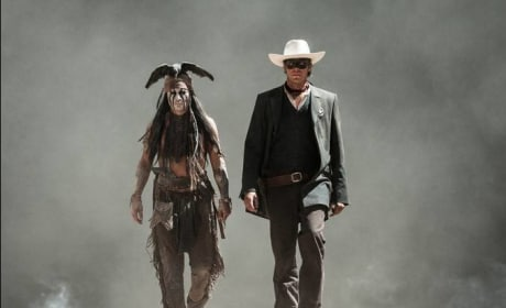 Johnny Depp Armie Hammer The Lone Ranger