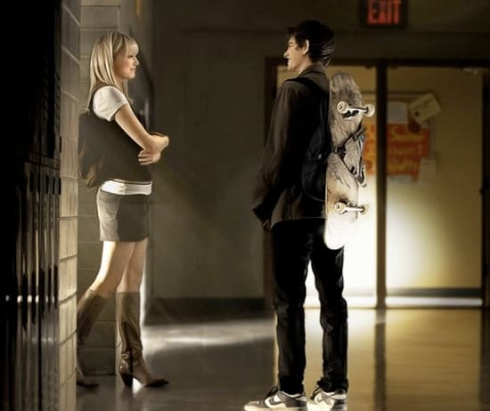 Emma Stone and Andrew Garfield in The Amazing Spider-Man