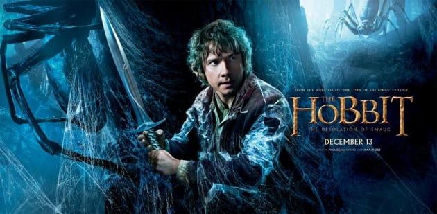 The Hobbit Desolation of Smaug Bilbo Sword Poster