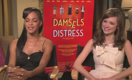 Damsels in Distress Exclusive: Carrie MacLemore & Megalyn Echikunwoke Interview