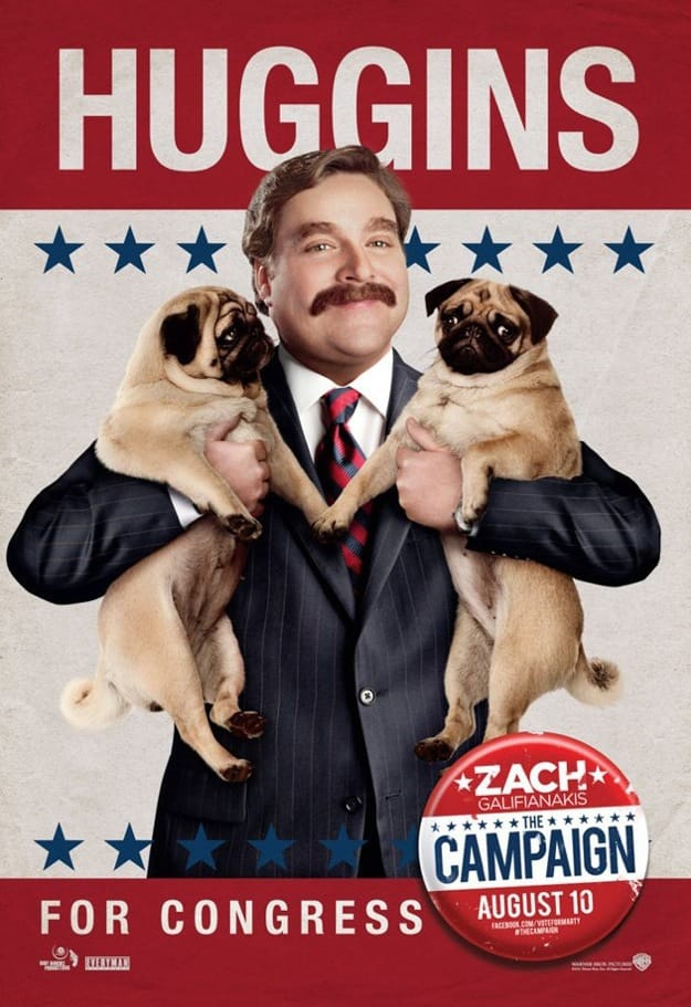 Zach Galifianakis The Campaign Poster