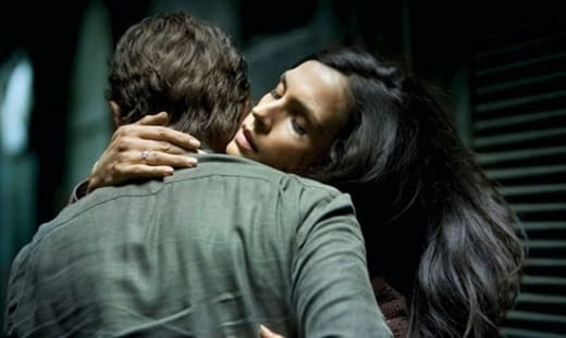 Liam Neeson and Famke Janssen in Taken 2