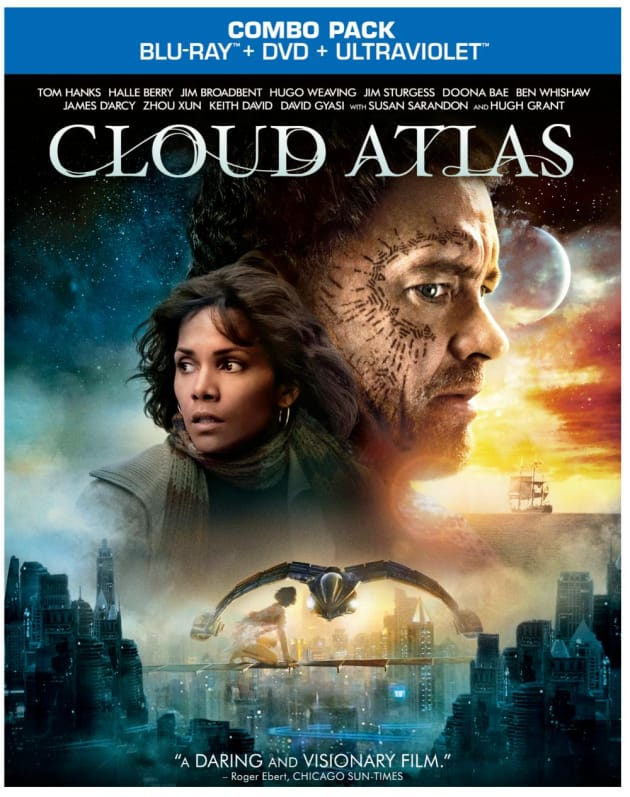cloud atlas dvd review david mitchell vision comes home