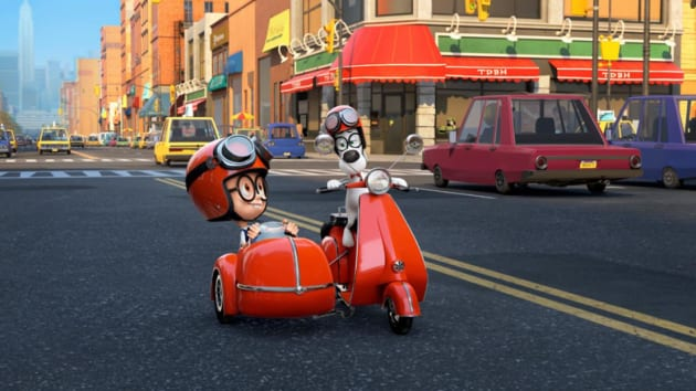 Mr. Peabody & Sherman Go for a Ride