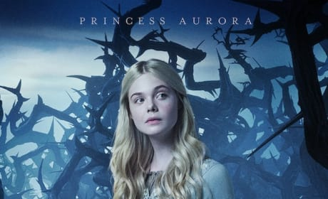 Maleficent Aurora Character Poster