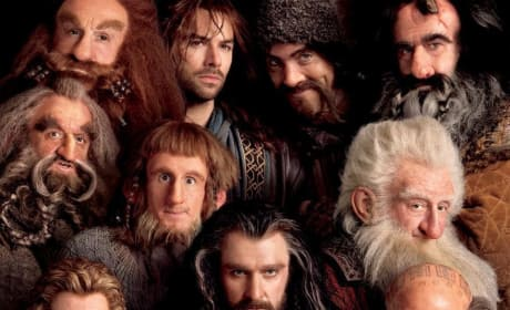 The Hobbit: An Unexpected Journey Poster Features a Gaggle of Dwarves