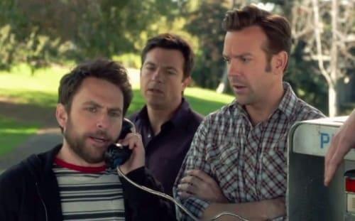 Charlie Day Jason Sudeikis Jason Bateman Chris Pine Horrible Bosses 2