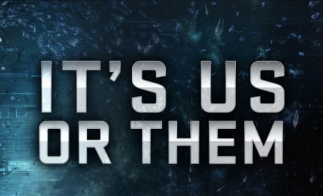 Ender's Game Poster: Us or Them
