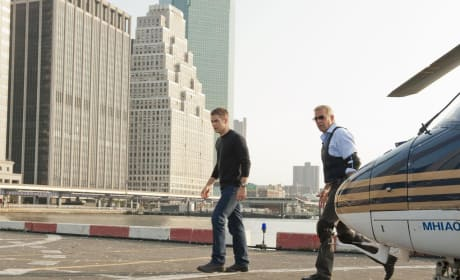 Chris Pine and Kevin Costner in Jack Ryan