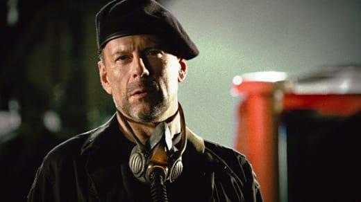 Bruce Willis in Planet Terror