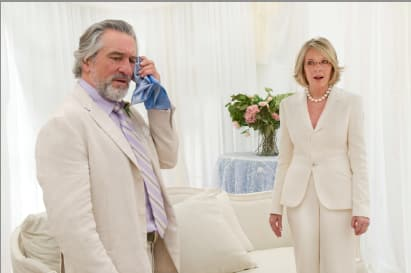 Robert De Niro Diane Keaton The Big Wedding