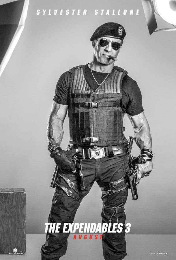 The Expendables 3 Sylvester Stallone Poster