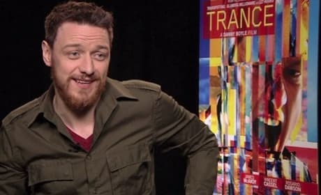 James McAvoy Interview Photo