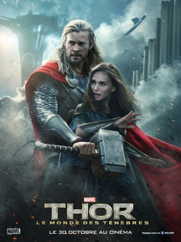 Thor The Dark World Jane Foster Poster