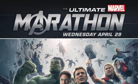 Marvel Movie Marathon Promo Art