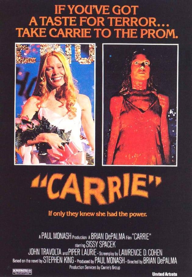 Carrie Original Movie Poster