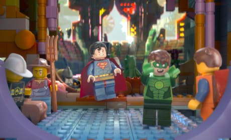 The LEGO Movie Superman Green Lantern