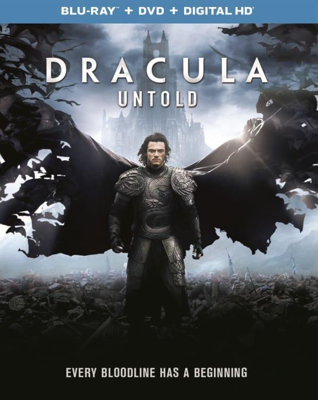 Dracula Untold DVD