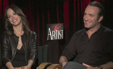 The Artist Exclusive: Jean Dujardin and Berenice Bejo Bring Silent Movies Back