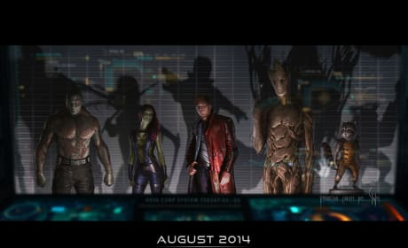 Kevin Feige Introduces the Guardians of the Galaxy
