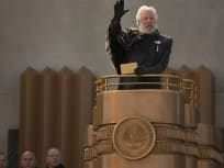 The Hunger Games Catching Fire Donald Sutherland
