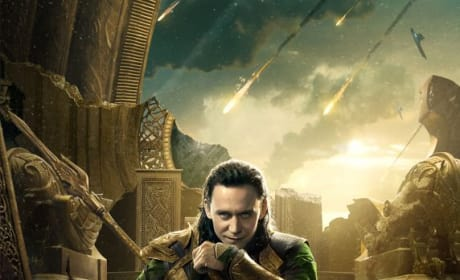 Thor The Dark World Character Poster: Loki