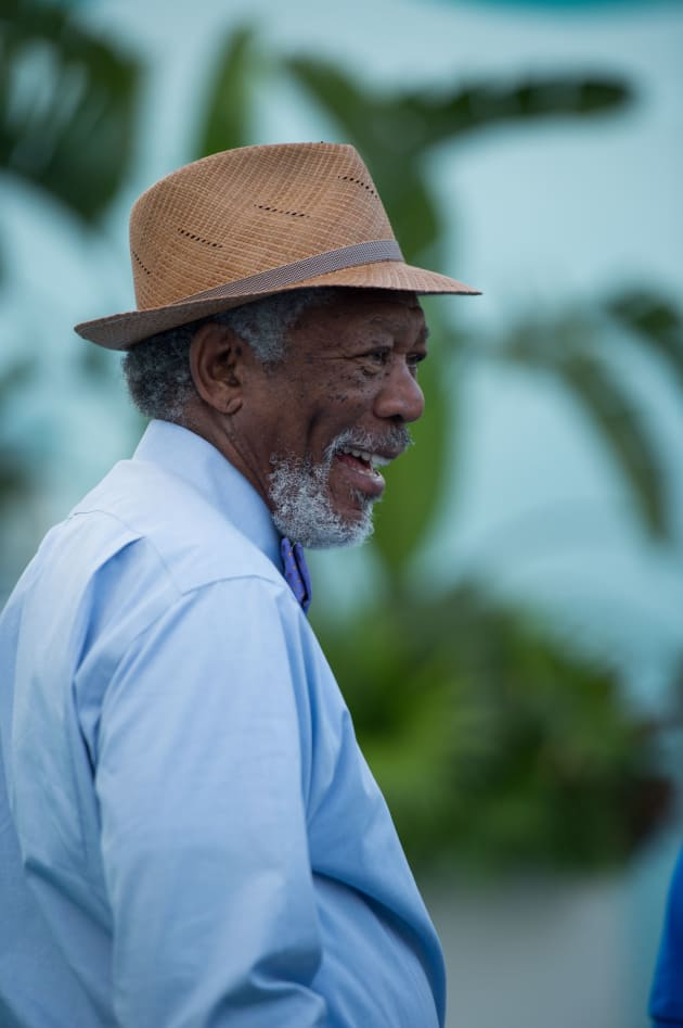 Dolphin Tale 2 Morgan Freeman
