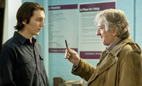 Paul Dano and Robert De Niro in Being Flynn