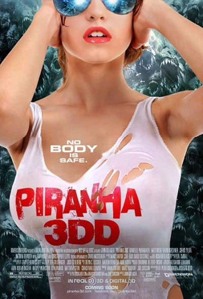 Piranha 3DD Poster: Nobody is Safe