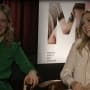 Elizabeth Olsen and Sarah Paulson Interview Pic