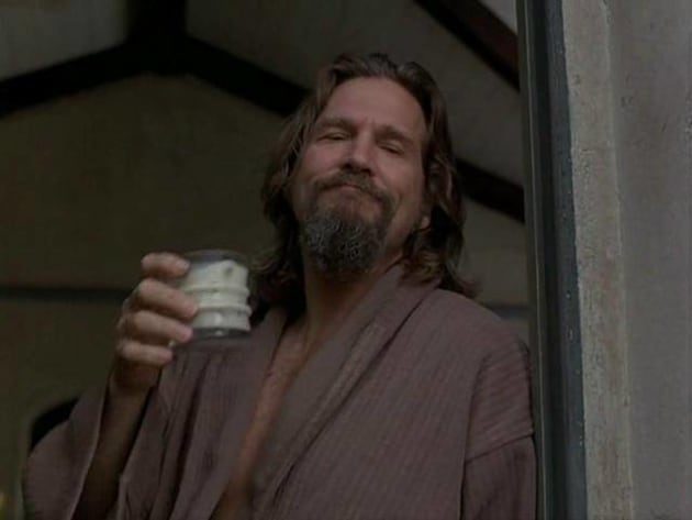 The Dude with a White Russian