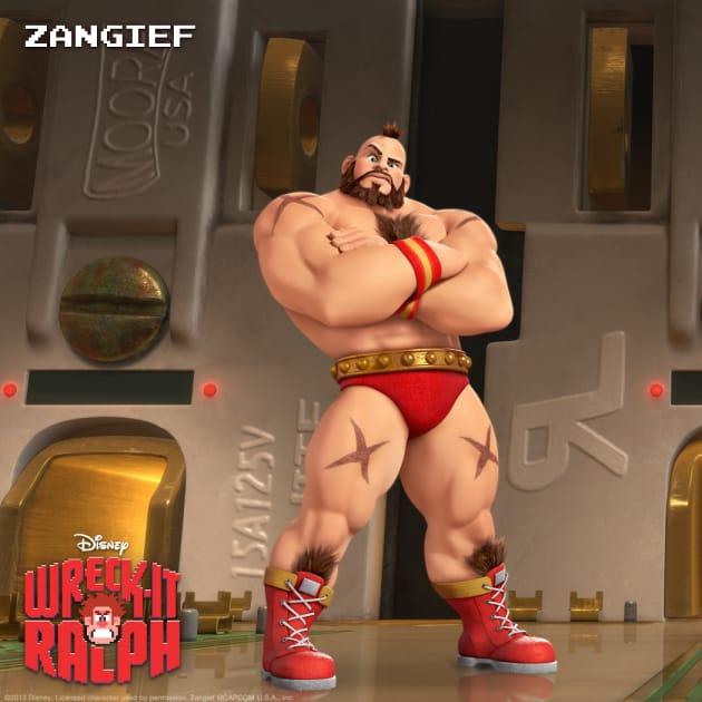 Zangief Wreck-It Ralph