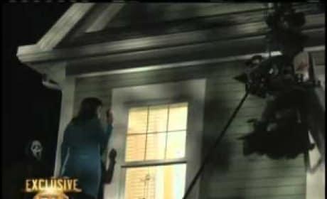 Scream 4 On Set Entertainment Tonight Canada