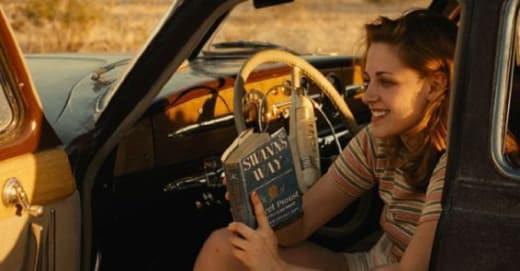 On the Road Kristen Stewart