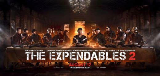 Expendables 2 Last Supper Banner