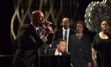 Glory Has Oscar Crowd Singing John Legend & Common's Praises