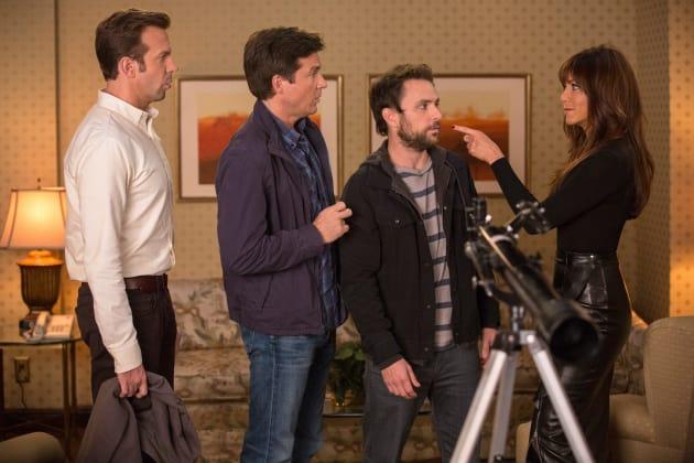 Horrible Bosses 2 Jennifer Aniston Charlie Day Jason Bateman Jason Sudeikis