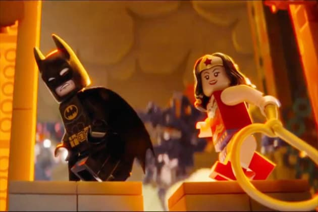 The lego movie wonder woman