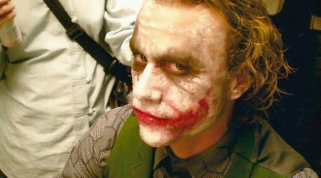 The Dark Knight Heath Ledger Make-Up Chair