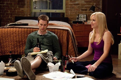 Chris Evans and Anna Faris in What's Your Number