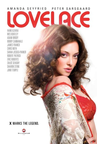 Lovelace Movie Poster: Seyfried's Sultry Stare