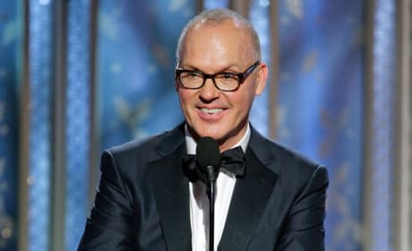Michael Keaton Golden Globes